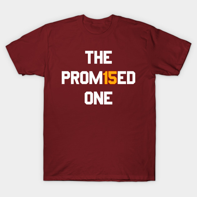 b8eb4036e Mahomes The Promised One - Patrick Mahomes - T-Shirt