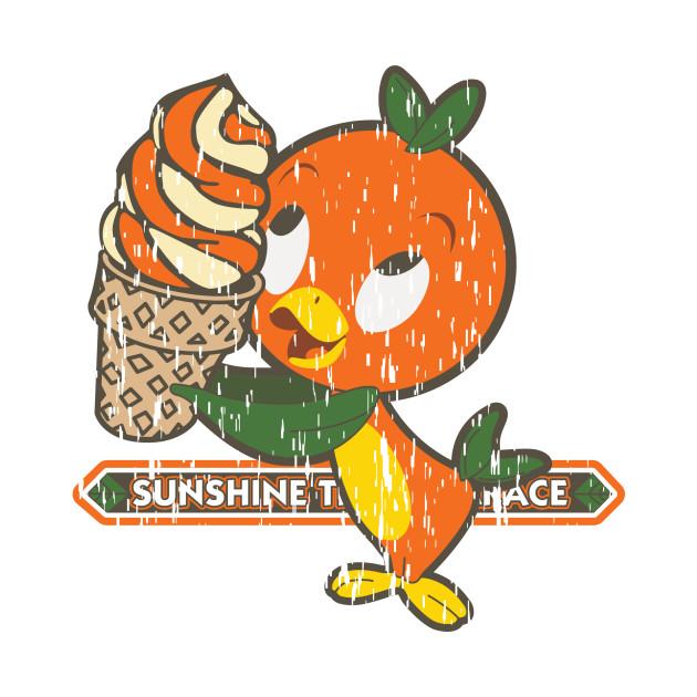 Florida Orange Bird Disney