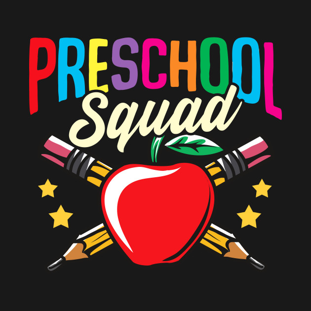 Preschool Squad Back To School First Day Teachers Students Gift