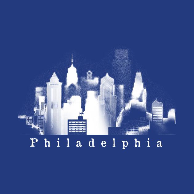Philadelphia Graphic Original Skyline Tees