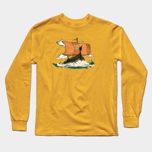 Norse Mythology Pure Cotton Youth Long-Sleeved T-Shirt