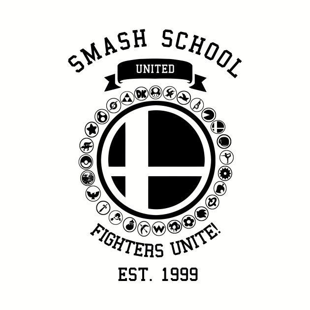Smash School United (v2) (Black)