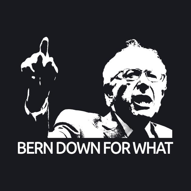 Bernie Sanders Bern Down For What Tee