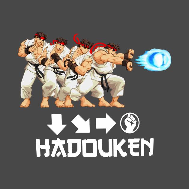 Hadouken Street Fighter T Shirt Teepublic