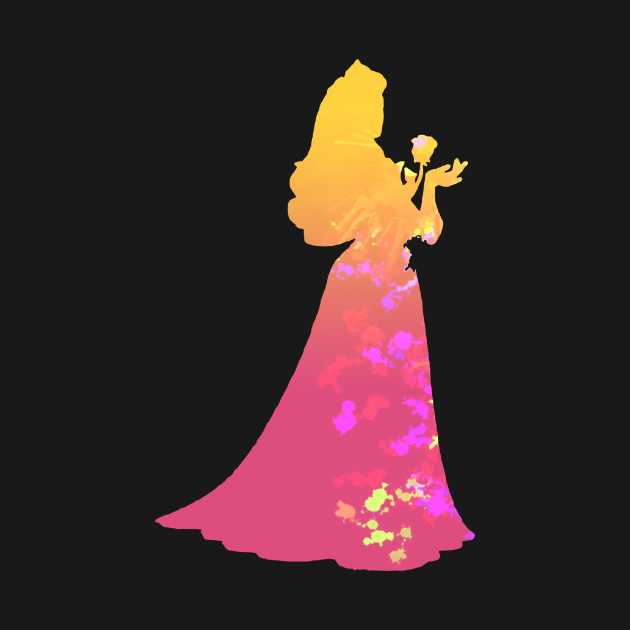 138de2ec3 Princess Inspired Silhouette - Princess Aurora - Onesie   TeePublic