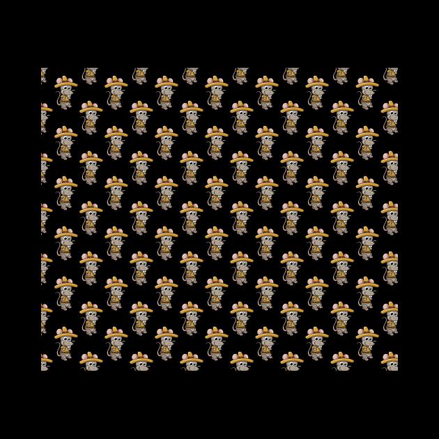 Mouse Adventurous Pattern