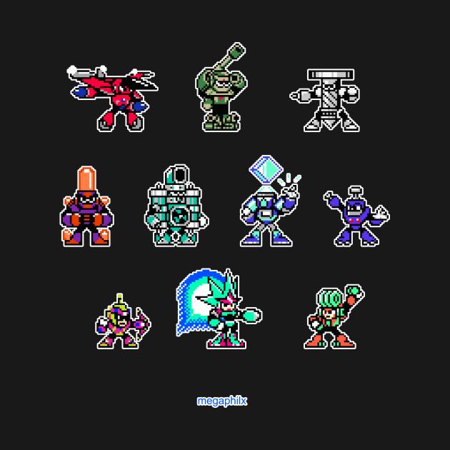 Mega Man Unlimited - Robot Masters Sprites