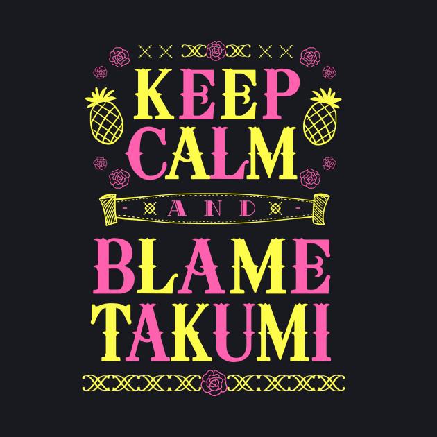 Blame Takumi Shirt Ver. 1