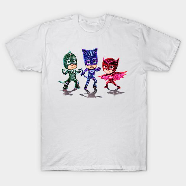 5d5dfc5bb PJ Mask - Pj Masks - T-Shirt | TeePublic
