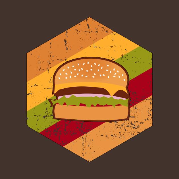Vintage Retro Burger