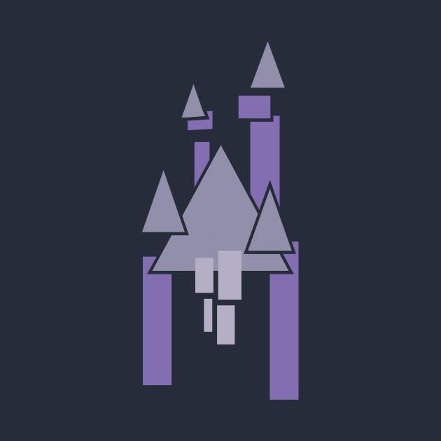 Castle Geometric Purple