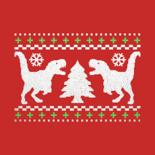 Funny Ugly T-REX Christmas Sweater t-shirts