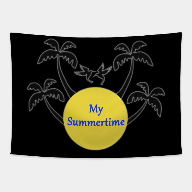 My Summertime, summer, sun palms