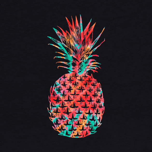 Tie Dye Summer Pineapple