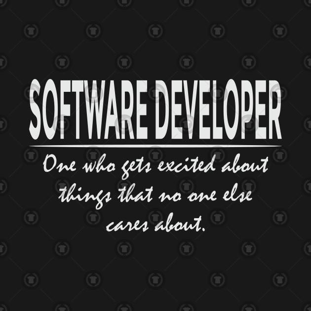 1ff57a08 ... Funny Software Developer Definition Cool Programmer T-Shirt