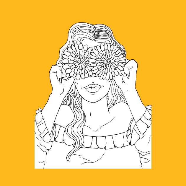 Cute Sunflower Babe