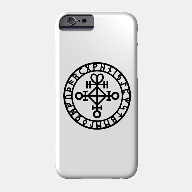 Viking Love Rune Rune Phone Case Teepublic
