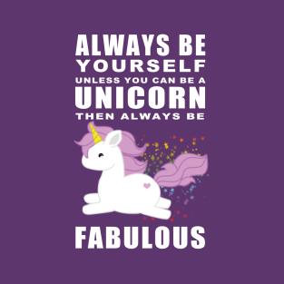 Always - Unicorn t-shirts