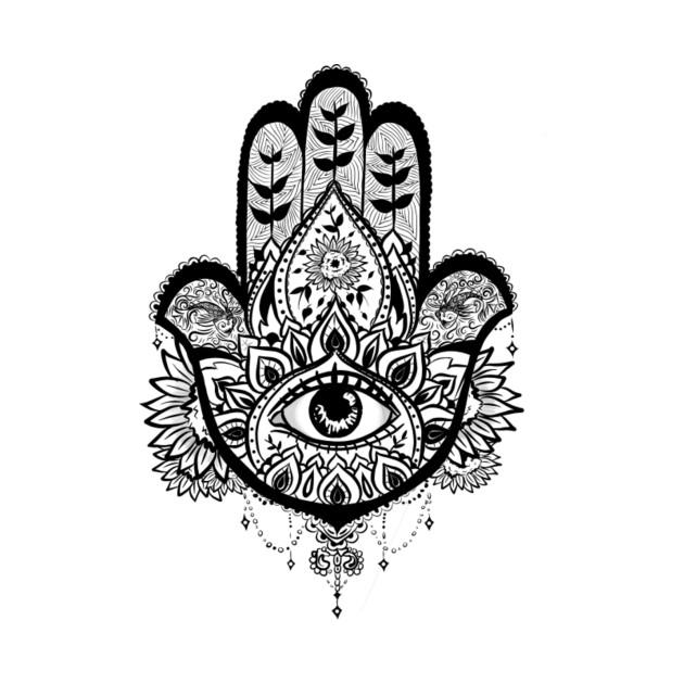 hamsa hand sunflower hamsa hand sunflower eye t shirt teepublic