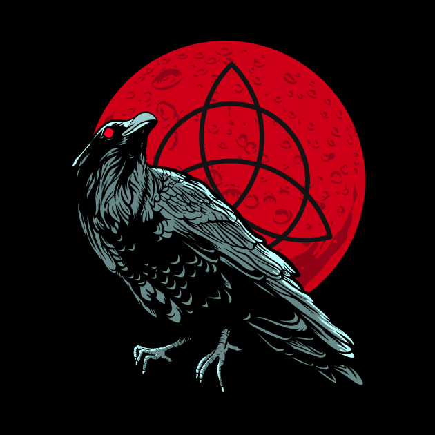 raven and the bloodmoon