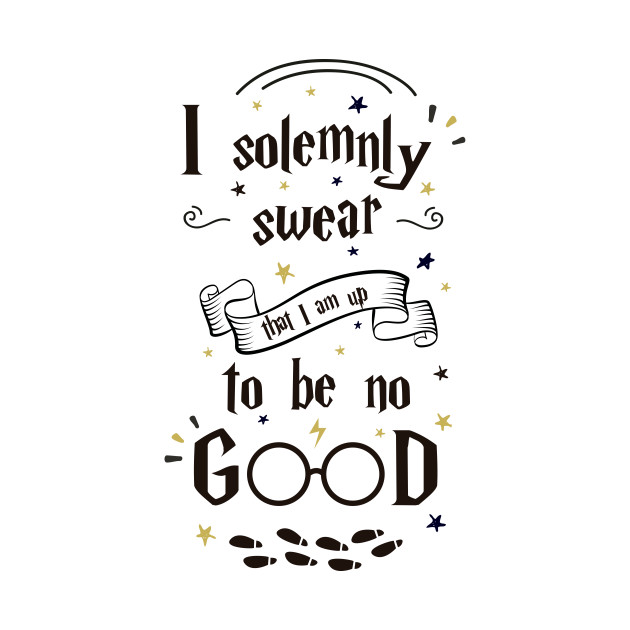 1bab5de46043 Harry Potter - I solemnly swear that i am up to no good t-shirt ...