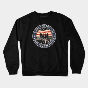 388db114 American Flag Crewneck Sweatshirts | TeePublic