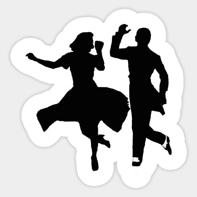 Fred And Ginger Fred Astaire Dance Ginger Rogers Vintage Old Movies Sticker Teepublic Au