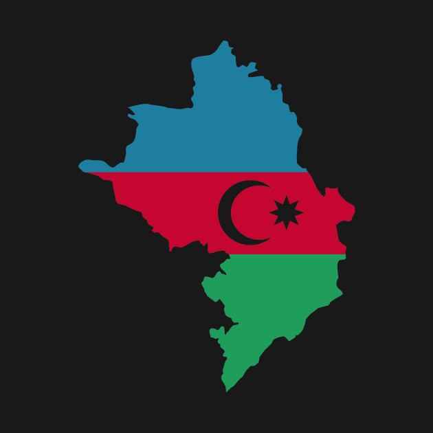Azerbaijan Map Flag Azerbaijan T Shirt Teepublic