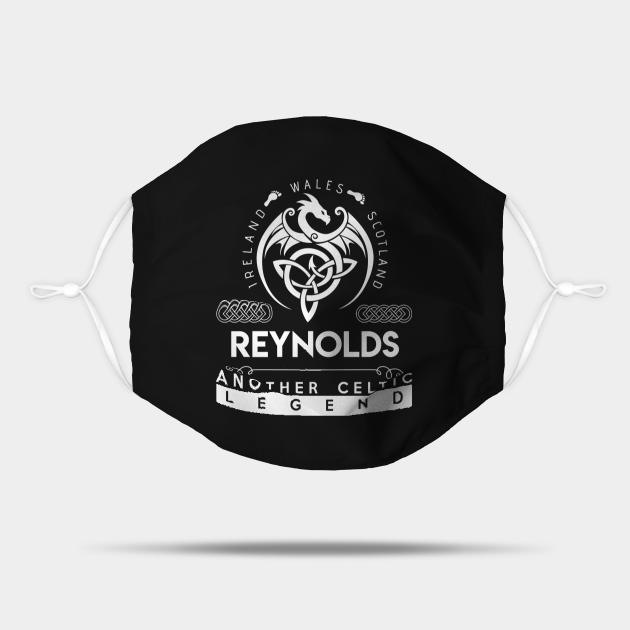 Reynolds Name T Shirt - Another Celtic Legend Reynolds Dragon Gift Item