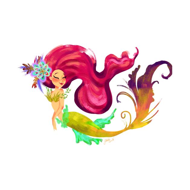 Mermaid Ultra pink hair