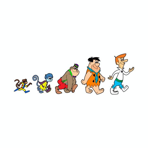 Hanna Barbera Evolution