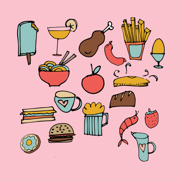 Food Frenzy Food Lover Onesie Teepublic