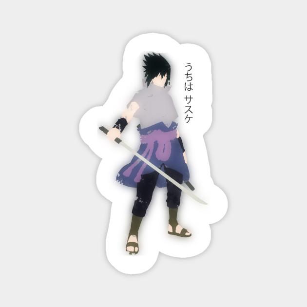 Minimal Sasuke Uchiha Uchiha Sharingan Magnete Teepublic It