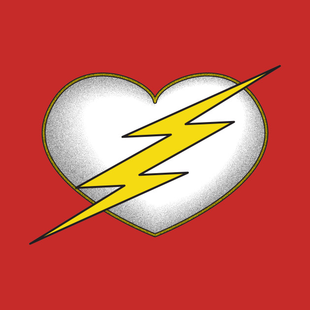 I love you more than the Scarlet Speedster