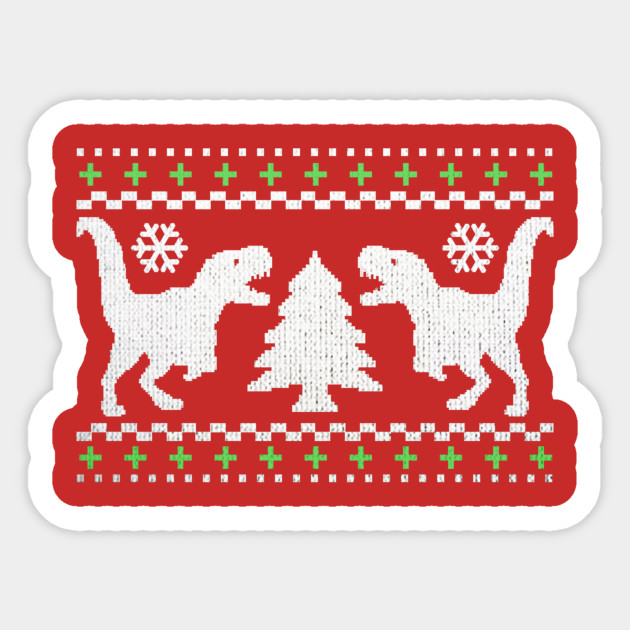 Funny Ugly T-REX Christmas Sweater