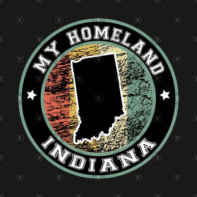 Homeland Indiana state USA vintage