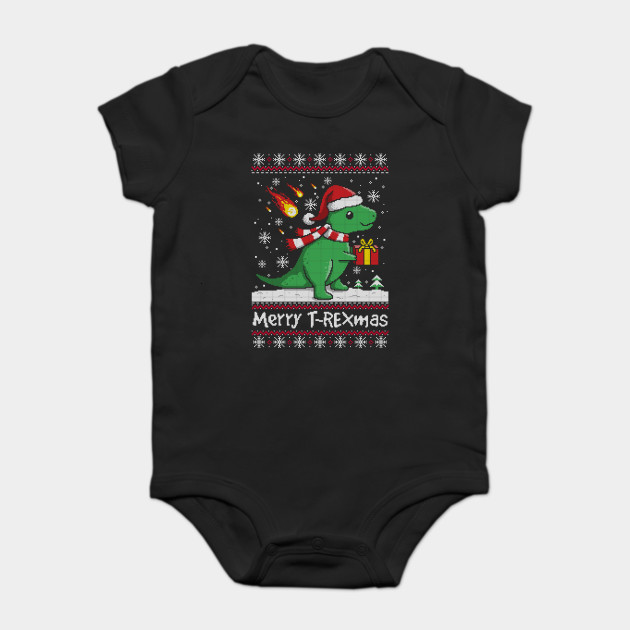 T Rex Ugly Christmas Sweater.Merry T Rex Mas Ugly Christmas Sweater