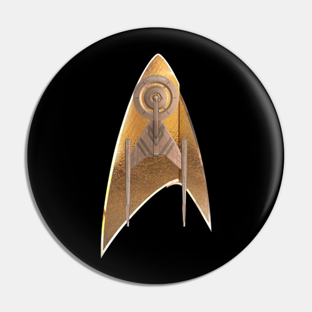 Star Trek Discovery Badge N Ship