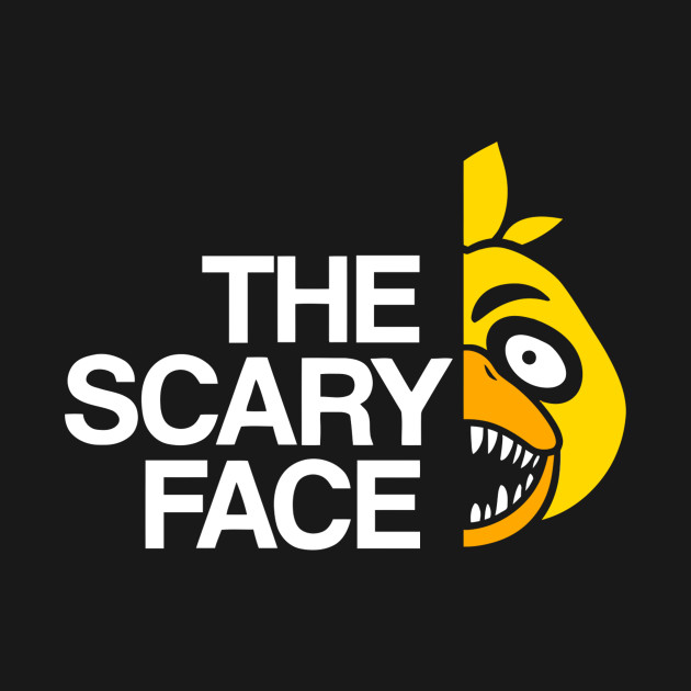 The Scary Face – C T-Shirt