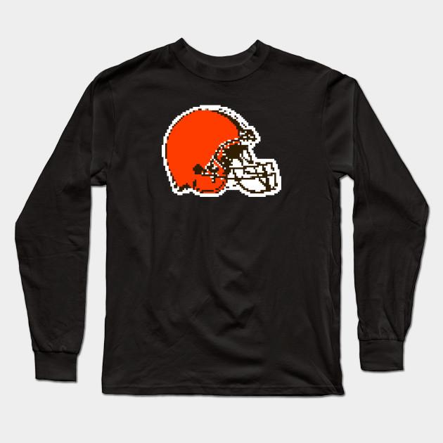 cleveland browns 8 bit shirt