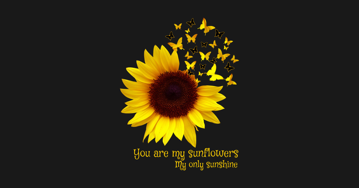 You Are My Sunflowers My Only Sunshine Butterfly Costume ...