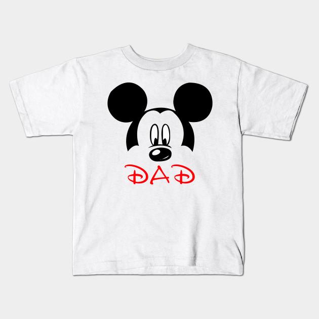 10c8b72c17fe Mickey Mouse Dad Vacation Tee Disney - Disney Vacation - Kids T ...