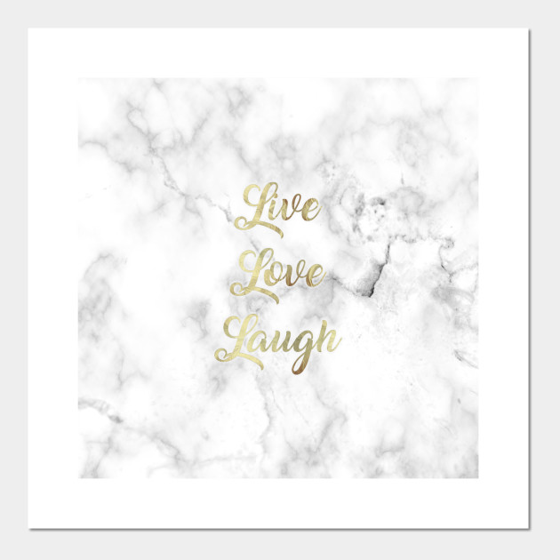 Live Love Laugh Inspirational Quote
