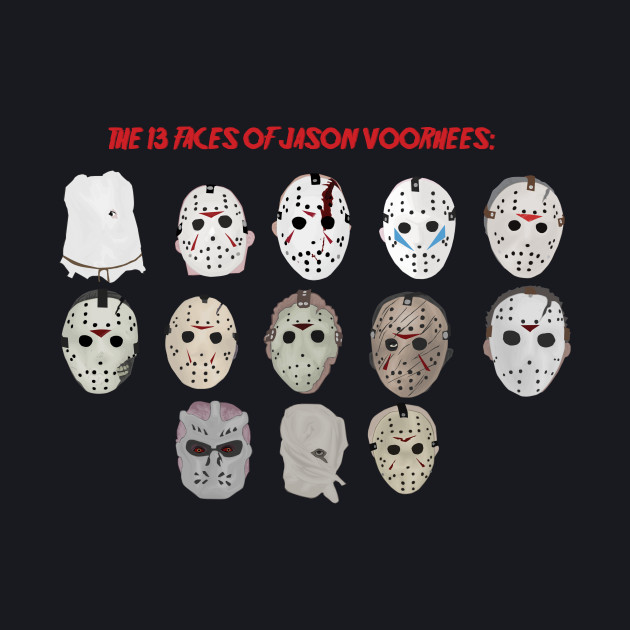 The 13 Faces of Jason Voorhees