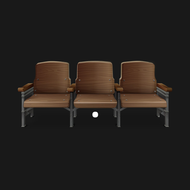Remarkable Glitch Furniture Bench Theater Chair Classic Caraccident5 Cool Chair Designs And Ideas Caraccident5Info