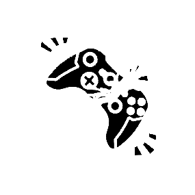 Gaming Logo Stickers | TeePublic
