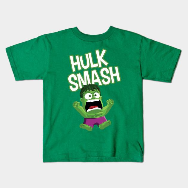 eb9f53fc Inside Out Hulk Smash - Hulk - Kids T-Shirt | TeePublic