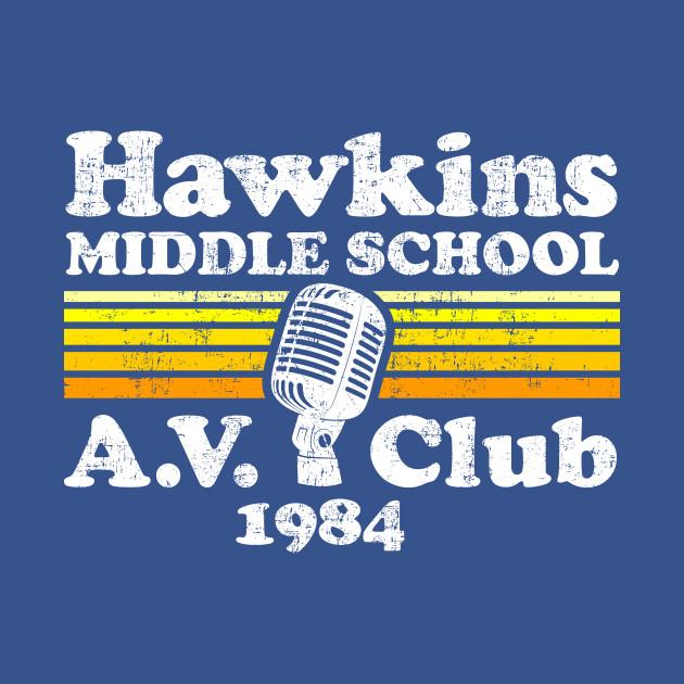 Stranger Things Hawkins Middle School A.V. Club