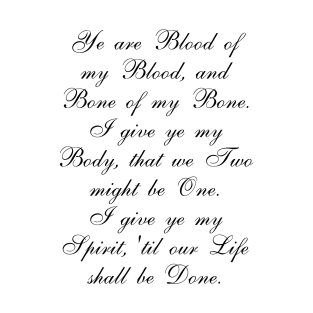 Outlander Wedding Vows