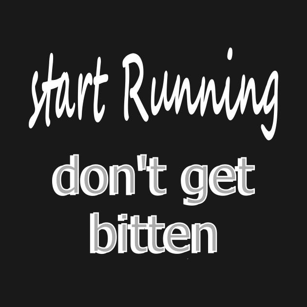 Run (in white)